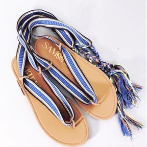 NWT Lace Up Sandals